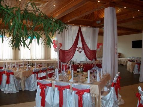 Характеристики зала для свадьбы
